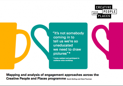 Creative People and Places Executive Summary cover page